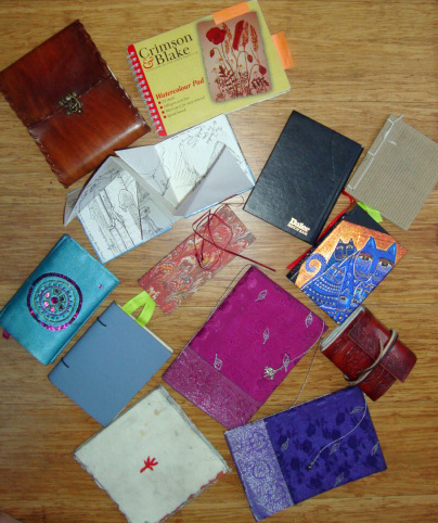 10 sketchbooks