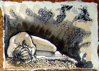 Rose Davies drawing