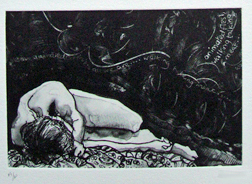 Rose Davies etching