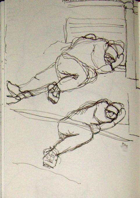 10 street sleep