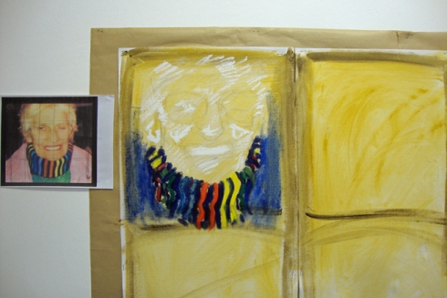 Developing the first portrait of a murdered woman
