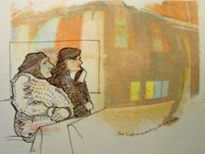 Rosie Scribblah Ladies In Waiting