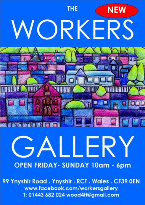 Workers Gallery Flyers front web