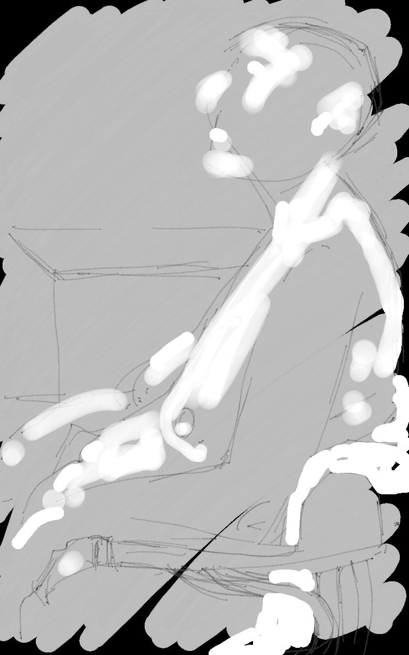 New Life Drawing Female Nude Scribblah