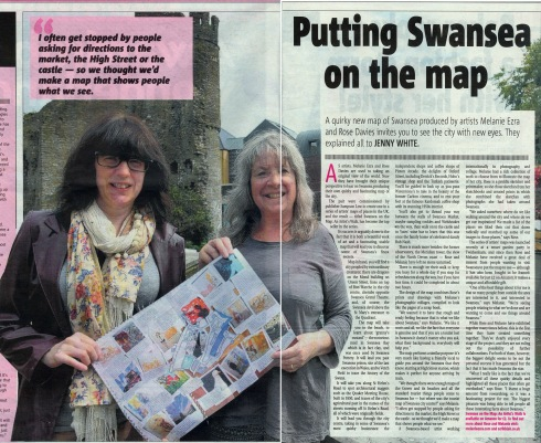On The Map press
