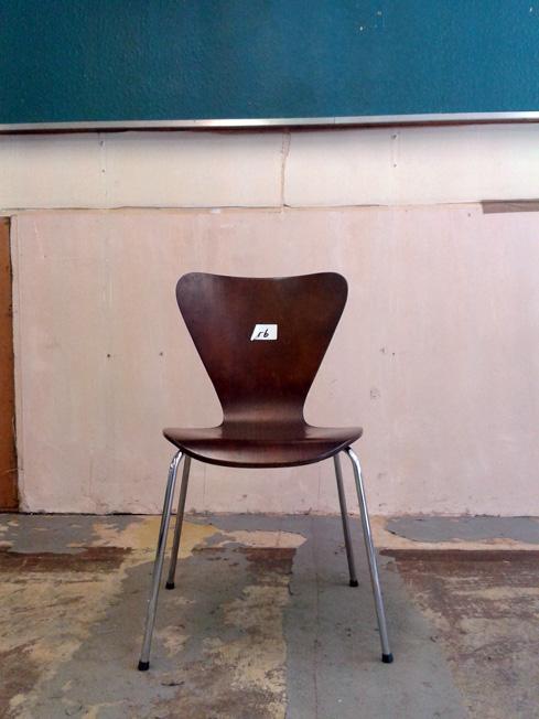 The Christine Keeler Chair   scribblah