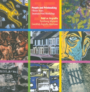 People and printmaking book cover