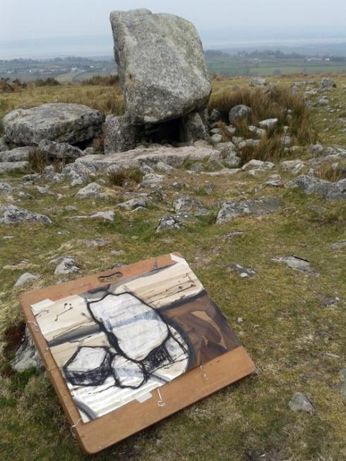 Arthur's Stone, Cefn Bryn