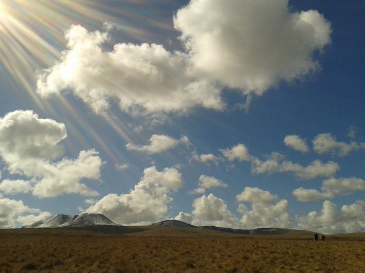 Nant Tarw landscape