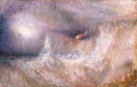 The Beacon Light by J M W Turner