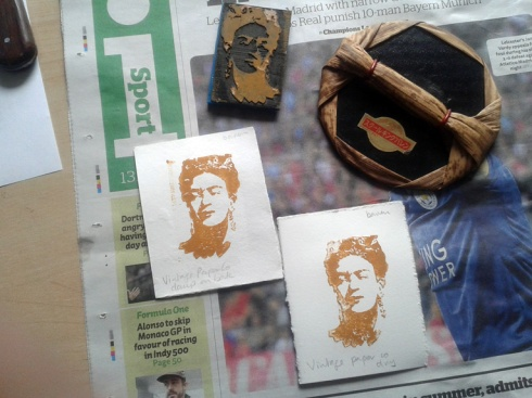 17 Frida vintage