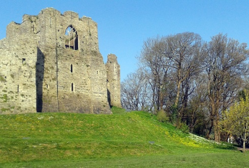 Oystermouth Castle 2
