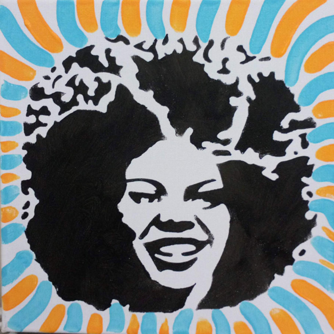 Pop Art Head 1
