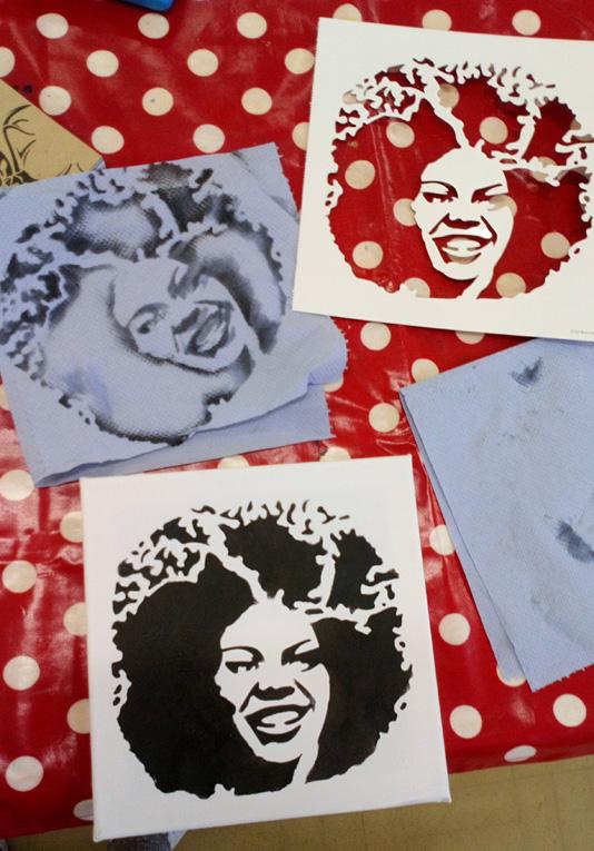 Pop Art Head 2