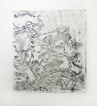 rose drypoint