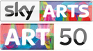 sky-arts art 50 mash up
