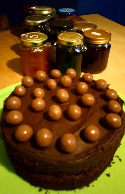 cake and jam