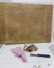 a clean board