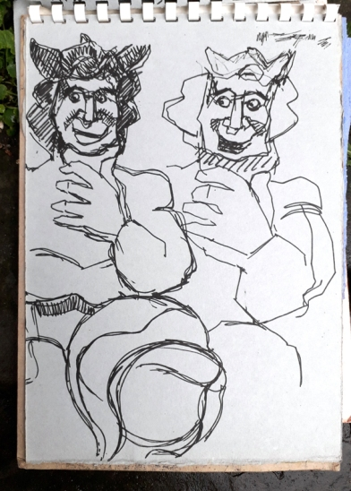 Two quick sketches to start