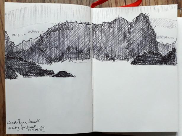 desert drawing