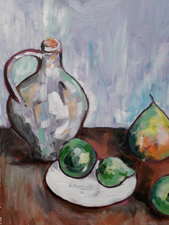 Cezanne still life final detail