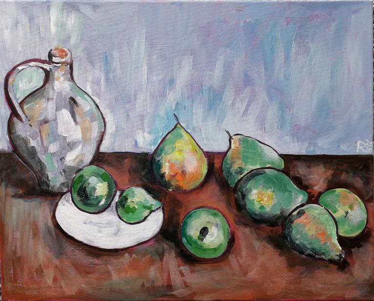Cezanne still life final